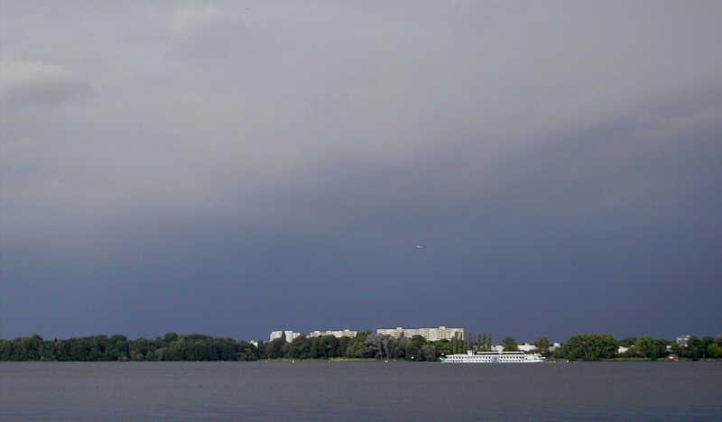 Raddampfer auf dem Teegeler See