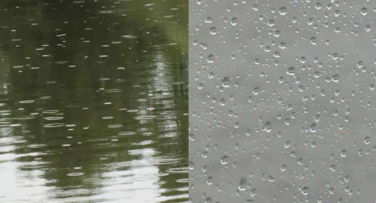Regen, nichts weiter als Regen!